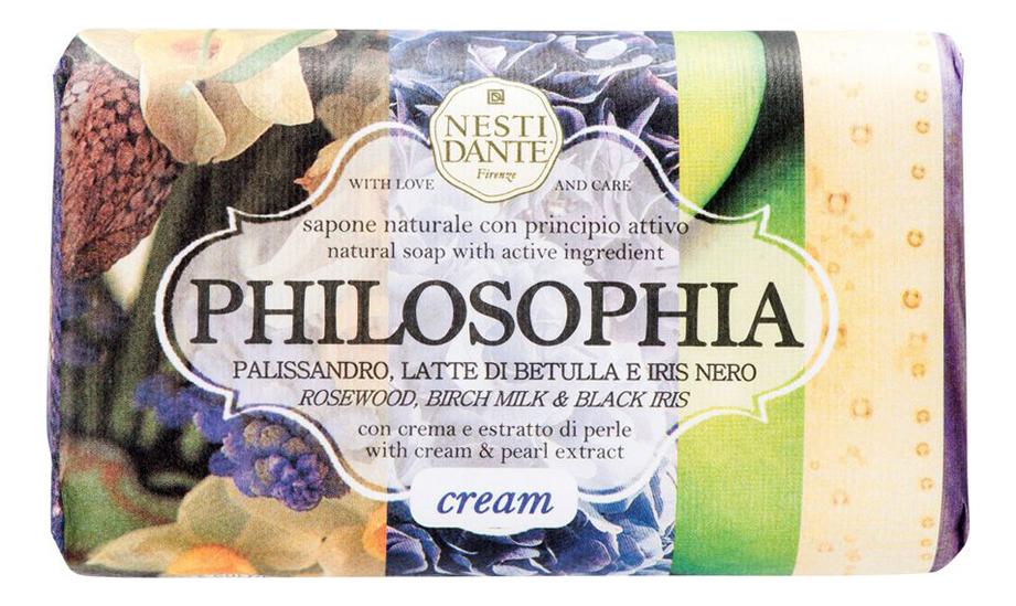 Мыло Philosophia With Cream  Pearls Extract Soap 250г (жемчужная пена)