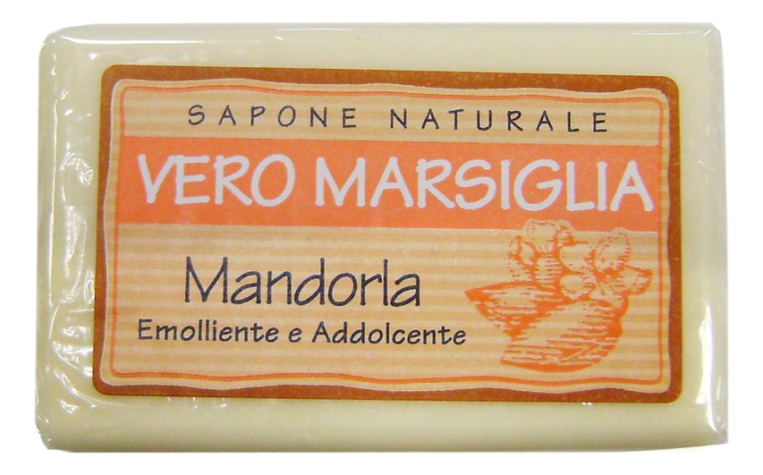 Мыло Vero Marsiglia Mandorla Soap 150г (миндаль) nesti dante мыло vero marsiglia мед 150 г