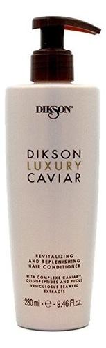Купить Ревитализирующий и наполняющий кондиционер для волос Luxury Caviar Conditioner 280мл, Dikson