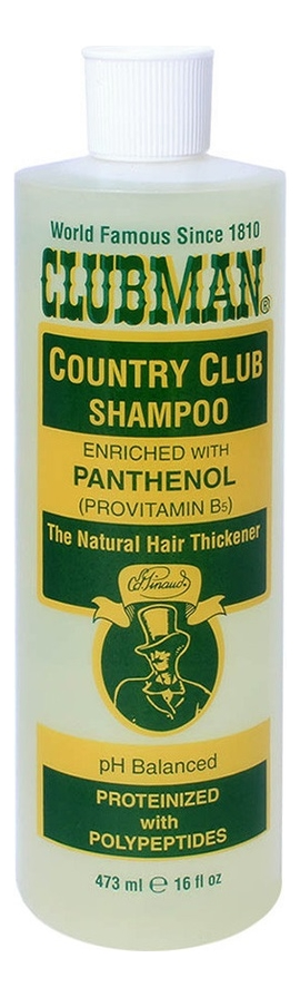 Купить Восстанавливающий шампунь для ежедневного применения Country Club Shampoo 473мл, Clubman Pinaud