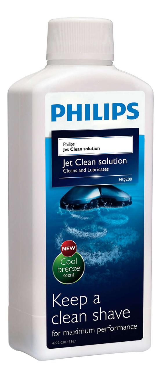 Жидкость для очищения электробритв Jet Clean Solution HQ200/50