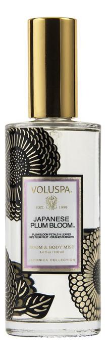 Ароматический спрей для дома и тела Japanese Plum Bloom 100мл (японская слива) ароматический спрей для дома и тела gardenia colonia 100мл гардения