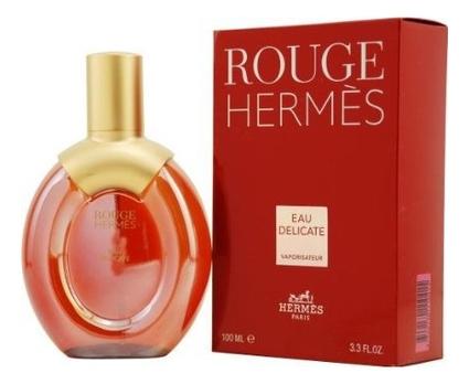 Hermes Rouge Eau Delicate: туалетная вода 100мл