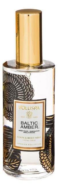 Ароматический спрей для дома и тела Baltic Amber 100мл (балтийский янтарь) ароматический спрей для дома и тела gardenia colonia 100мл гардения