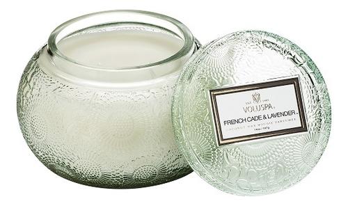 Фото - Ароматическая свеча French Cade Lavender (лаванда и вербена): свеча в стеклянном подсвечнике с крышкой 397г ароматическая свеча lavender vanilla лаванда и ваниль свеча 680г