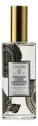 Ароматический спрей для дома и тела French Cade Lavender 100мл (лаванда и вербена) ароматический спрей для дома и тела gardenia colonia 100мл гардения