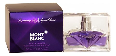Femme de MontBlanc: туалетная вода 30мл недорого