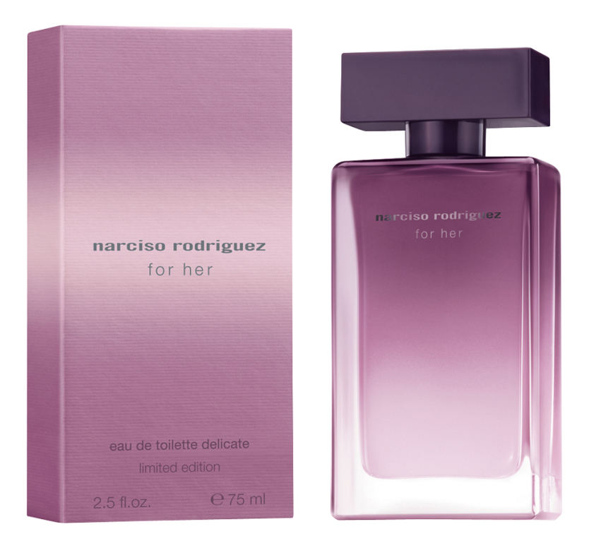 Narciso Rodriguez For Her Eau de Toilette Delicate Limited Edition: туалетная вода 75мл