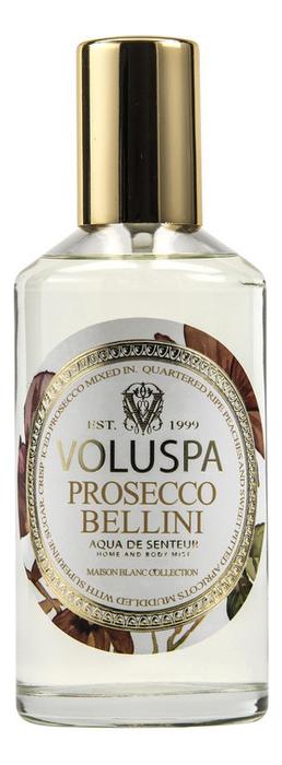 Ароматический спрей для дома и тела Prosecco Bellini 112мл (абрикос и персик) ароматический спрей для дома и тела persimmon
