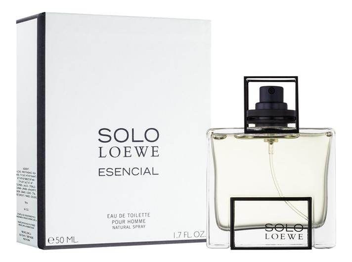 Solo Loewe Esencial: туалетная вода 50мл loewe балетки