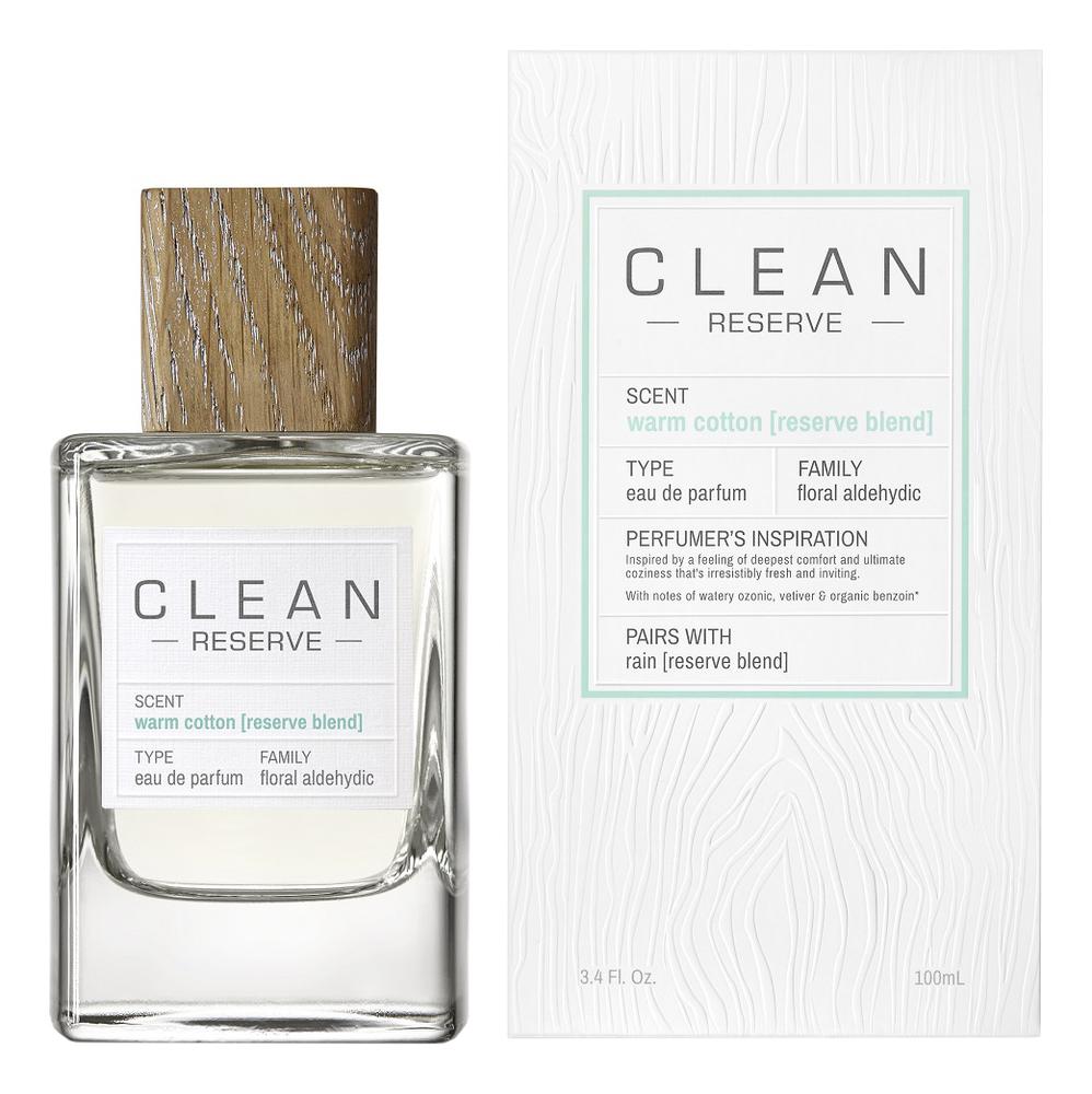 Clean Reserve Warm Cotton: парфюмерная вода 100мл