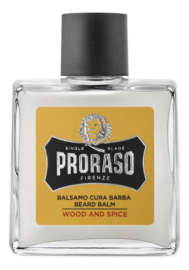 Бальзам для бороды Wood And Spice 100мл proraso шампунь для бороды