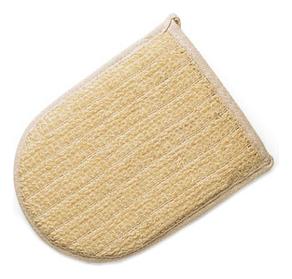 Мочалка для тела из сизаля (рукавица) мочалка из сизаля obsi с деревянными ручками мелкая вязка