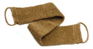 Мочалка для тела из сизаля (с ручкой для спины) мочалка из сизаля obsi с деревянными ручками мелкая вязка