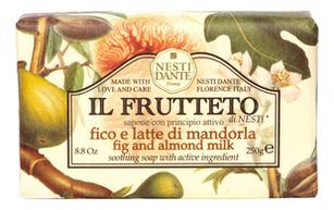 Мыло Il Frutteto Fig & Almond Milk Soap (инжир и миндальное молоко): Мыло 250г цена 2017
