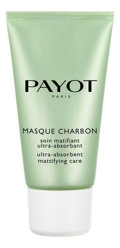 Купить Угольная маска для лица очищающая и матирующая Pate Grise Masque Charbon 50мл, Payot