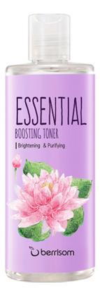 Осветляющий тонер для лица с экстрактом лотоса Essential Boosting Toner 265мл недорого