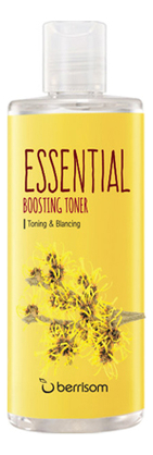 Тонизирующий тонер для лица с экстрактом гамамелиса Essential Boosting Toner 265мл недорого