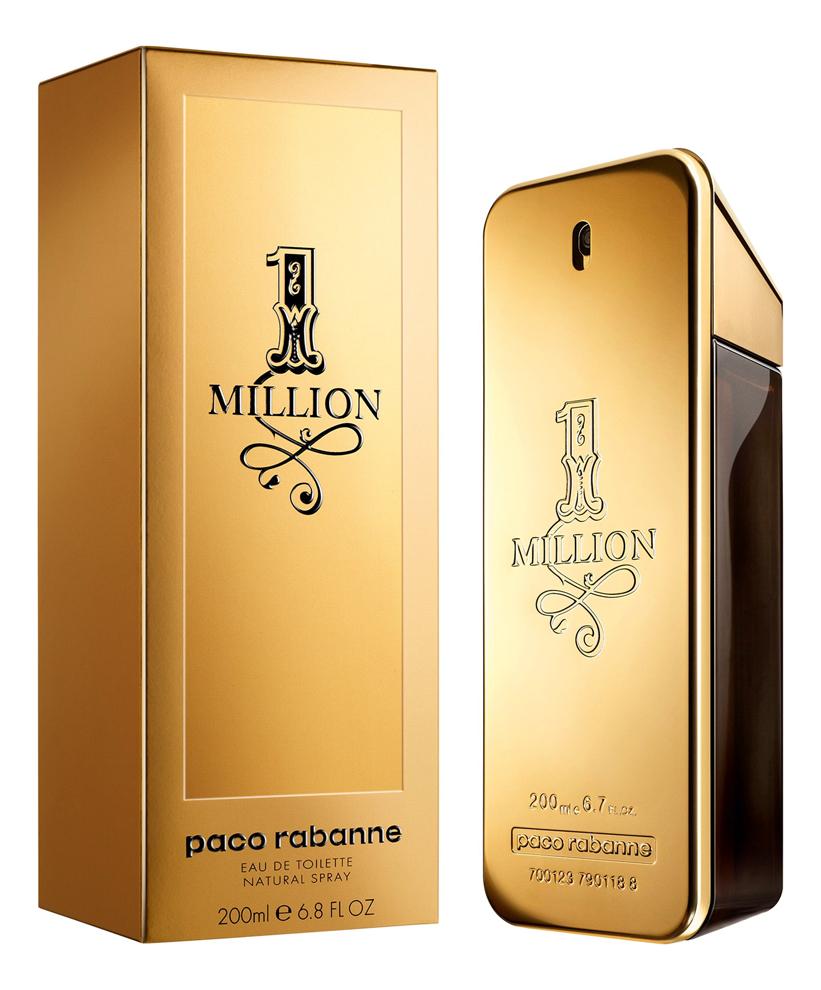 цена Paco Rabanne 1 Million Man: туалетная вода 200мл онлайн в 2017 году