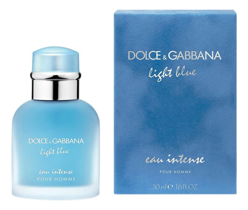 Light Blue Eau Intense Pour Homme: парфюмерная вода 50мл guilty pour homme eau de parfum парфюмерная вода 50мл