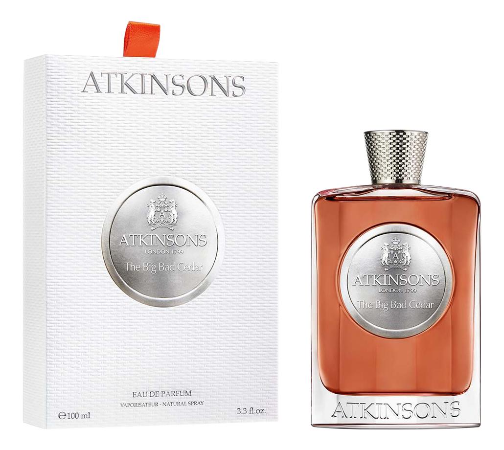 Atkinsons The Big Bad Cedar: парфюмерная вода 100мл