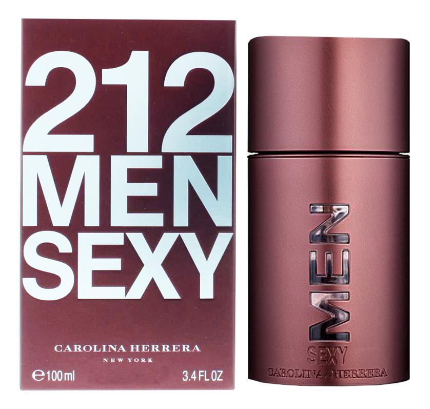 Carolina Herrera 212 Sexy Men: туалетная вода 100мл