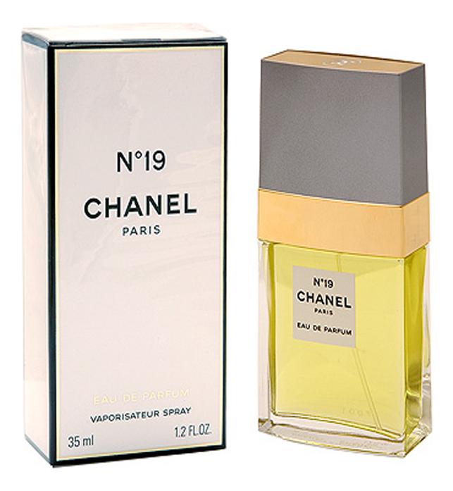 Chanel No19: духи 35мл тестер