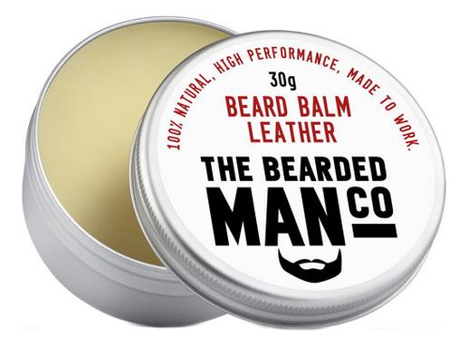 Бальзам для бороды с запахом дубленой кожи Beard Balm Leather: 30г