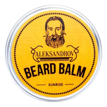 ALEKSANDROV Бальзам для бороды Sunrise Beard Balm 30г