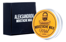 ALEKSANDROV Воск для усов Sunrise Moustache Wax Mild 13г
