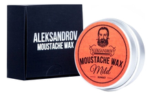 ALEKSANDROV Воск для усов Sunset Moustache Wax Mild 13г