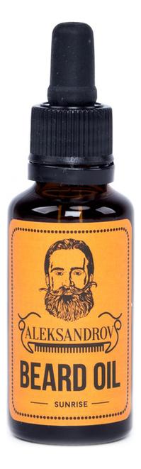 Масло для бороды Sunrise Beard Oil 30мл