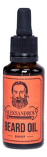 ALEKSANDROV Масло для бороды Sunset Beard Oil Sunset 30мл