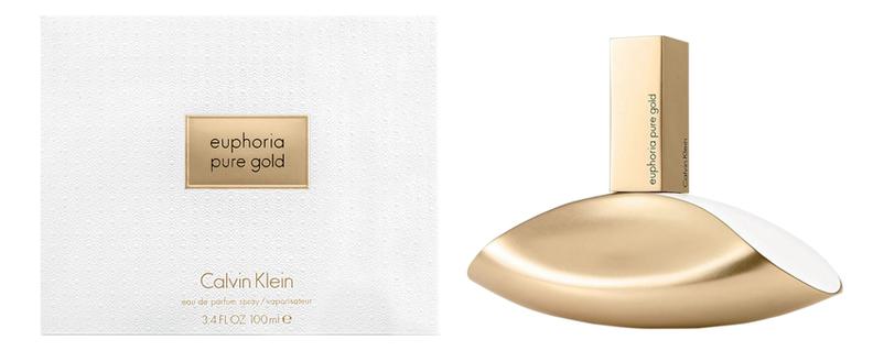 Calvin Klein Pure Gold Euphoria Women: парфюмерная вода 100мл
