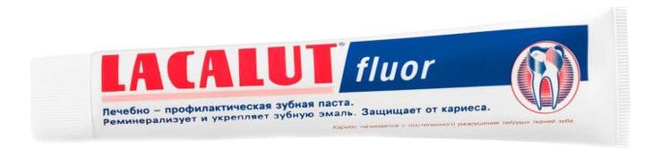 Зубная паста Fluor 75мл: Зубная паста 75мл зубная паста rocs страна производитель