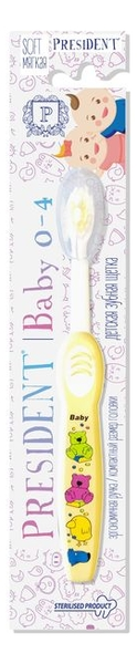 Зубная щетка для детей 0-4 лет Baby Soft (мягкая, в ассортименте) недорого