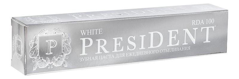 Купить Отбеливающая зубная паста White 75мл, PresiDENT