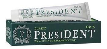 Купить Зубная паста Ежедневный уход и защита Classic: Зубная паста 75мл, PresiDENT