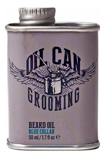 Oil Can Grooming Масло для бороды Beard Oil Blue Collar 50мл (табак и мандарин)