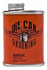 Oil Can Grooming Масло для бороды Beard Oil Iron Horse 50мл (аромат кожи и дикая малина)