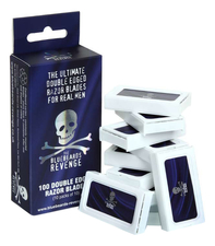 The Bluebeards Revenge Упаковка лезвий The Ultimate Double Edge Razor Blades For Real Men 100шт