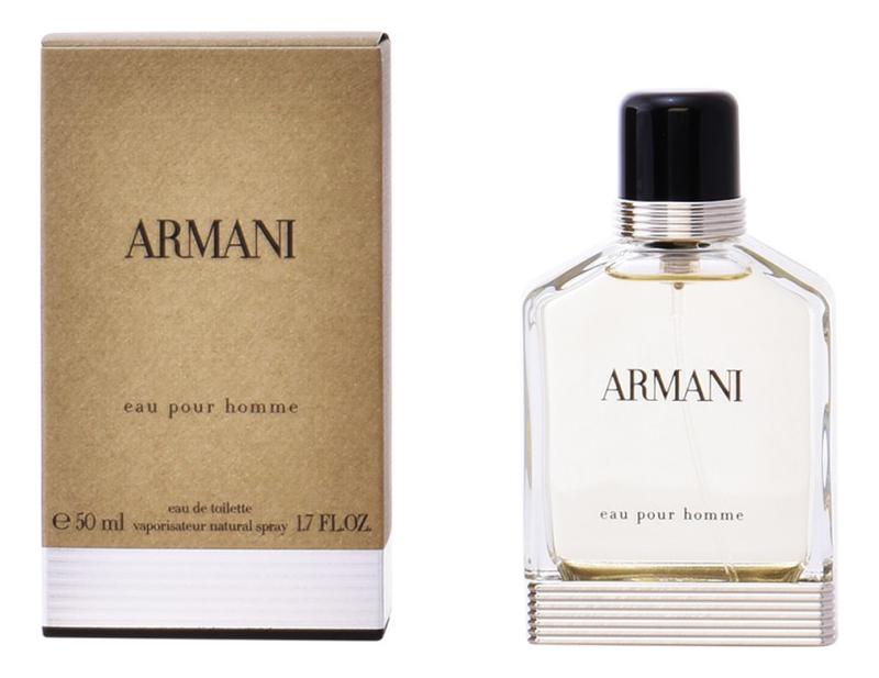 Купить Eau Pour Homme: туалетная вода 50мл, Giorgio Armani