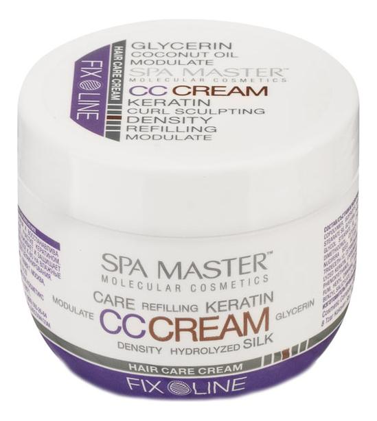 Уплотняющий крем для волос с кератином средней фиксации Hair CС Cream-Keratin Care Cream 100мл
