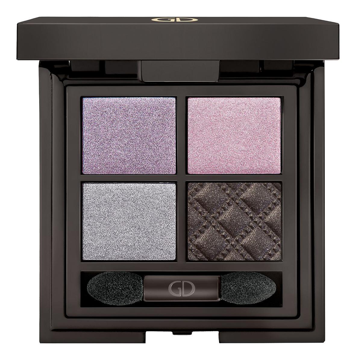 Купить Тени для век четырехцветные Idyllic Soft Satin 7г: 26 Violet Whisper, GA-DE