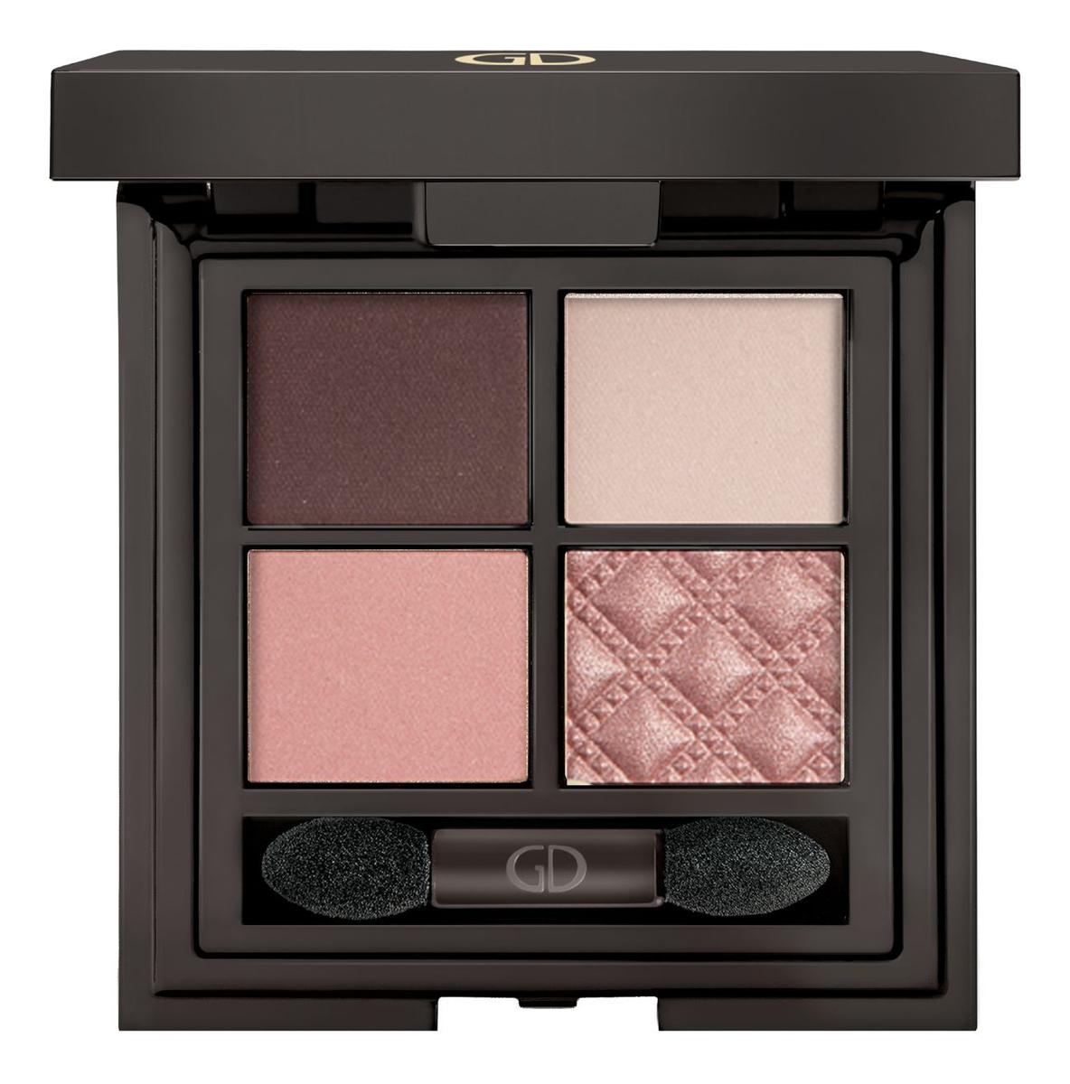 Тени для век четырехцветные Idyllic Soft Satin 7г: 40 Rose Quartz relouis тени для век pro eyeshadow satin 32 rose quartz