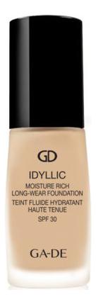 Тональный крем Idyllic Moisture Rich Long-Wear Foundation SPF30 30мл: 301 Natural Beige
