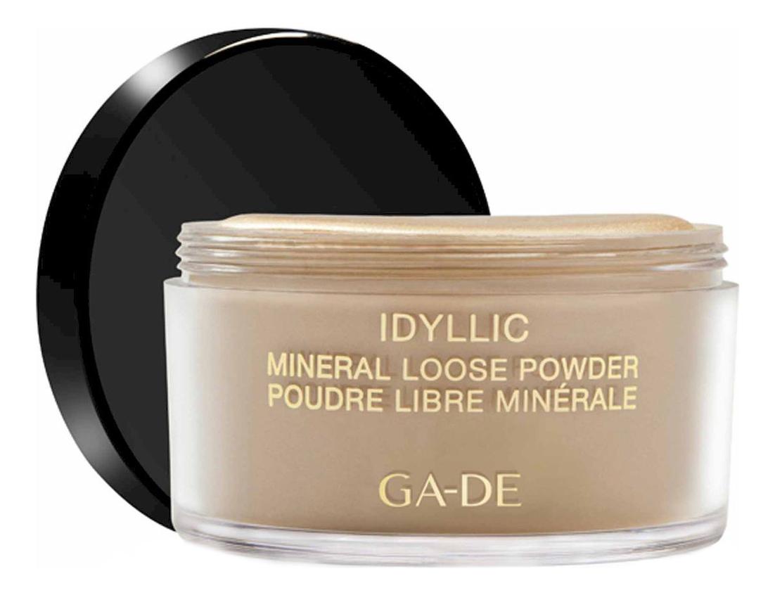 Рассыпчатая пудра с минералами Idyllic Mineral Loose Powder 25г: 101 Dust