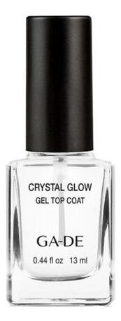 Верхнее покрытие для ногтей Crystal Glow Gel Top Coat 13мл