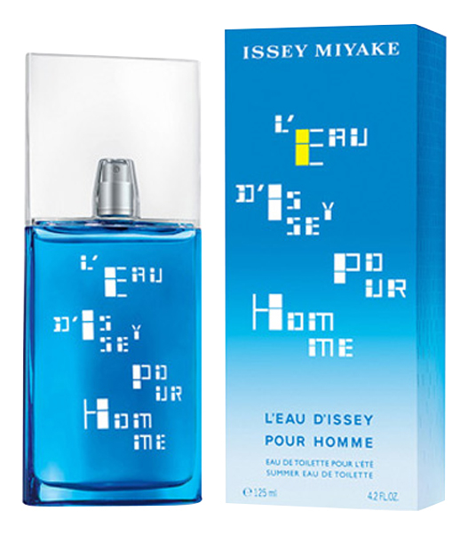 Issey Miyake LEau DIssey Pour Homme Summer Edition 2017: туалетная вода 125мл