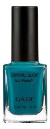 Лак для ногтей Crystal Glow Nail Enamel 13мл: 532 Peacock Blue